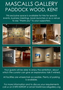 Gallery for Hire ad